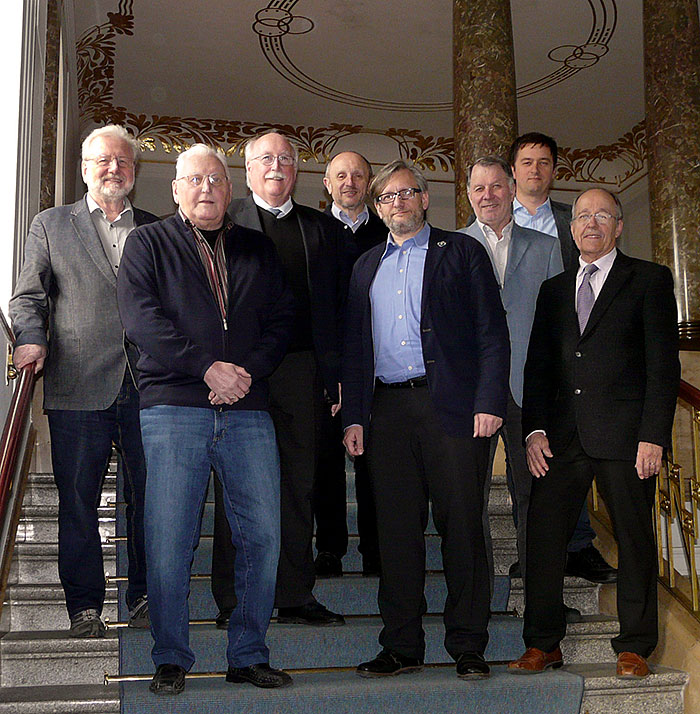 Die Vorstandschaft des Historischen Verein für Oberfranken e.V. Stand April 2016